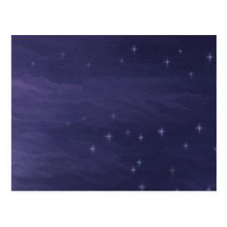 Magical Starry Night Postcard