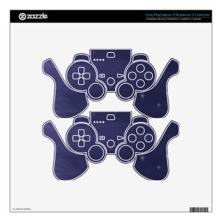 Magical Starry Night PS3 Controller Decals