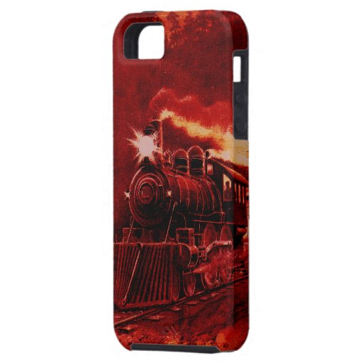 Magical Steam Engine Victorian Train iPhone 5 Covers