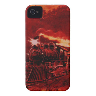 Magical Steam Engine Victorian Train iPhone 4 Covers