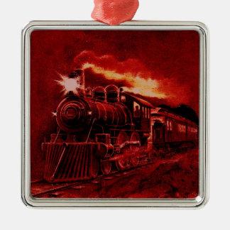 Magical Steam Engine Victorian Train Christmas Ornaments