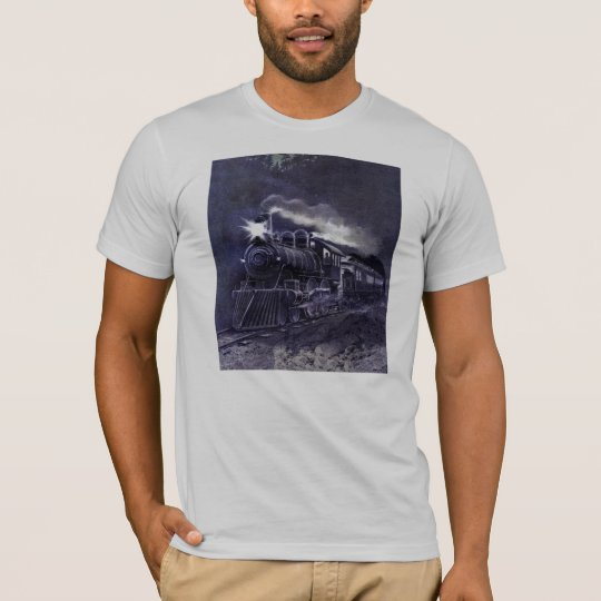 Magical Steam Engine Victorian Train T-Shirt