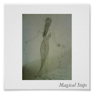 Magical steps poster