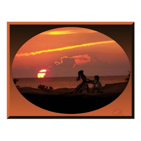 Magical Sunsets Postcard