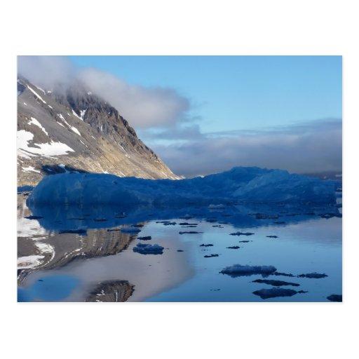 Magical Svalbard Postcard