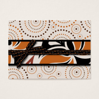 Magical Swirls and Halloween Prints Business Card