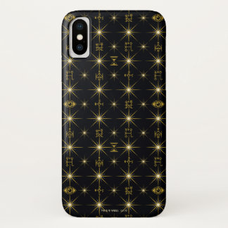 Magical Symbols Pattern iPhone X Case