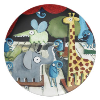 Magical Theatre Party Plates