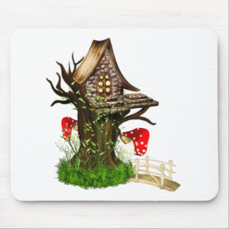 Magical Tree House Mouse Pad