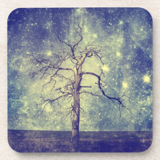 Magical Tree of The Universe Beverage Coaster