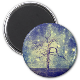 Magical Tree of The Universe 2 Inch Round Magnet