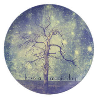 Magical Tree of The Universe Plates