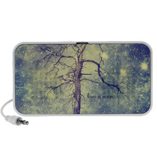 Magical Tree of The Universe Portable Speaker