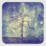 Magical Tree of The Universe Square Sticker