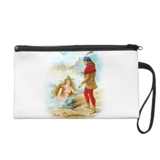 Magical under sea wristlet purse