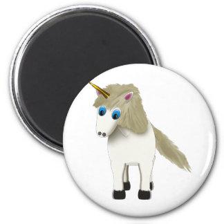 Magical Unicorn 2 Inch Round Magnet