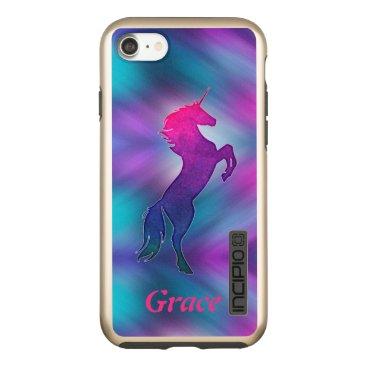 Magical Unicorn Abstract Custom Apple iPhone Case