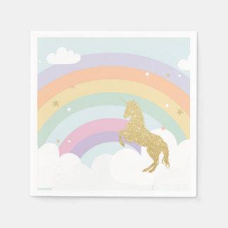 Magical Unicorn Birthday Napkins