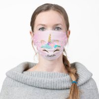 Magical Unicorn Cloth Face Mask