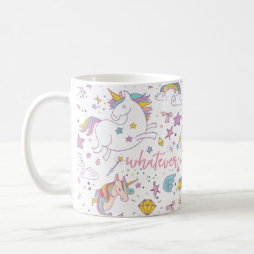 Christmas Themed Magical Unicorn Coffee Mug