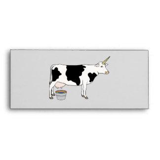 Magical Unicorn Dairy Milk Cow Envelope