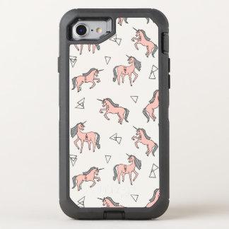 Magical Unicorn Love - Pale Pink / Andrea Lauren OtterBox Defender iPhone 7 Case