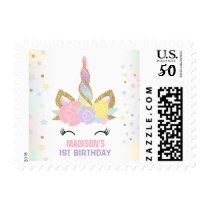 Magical Unicorn Postage Stamp Unicorn Party