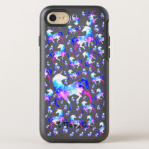 Magical Unicorn Universe Space Pattern OtterBox Symmetry iPhone 8/7 Case