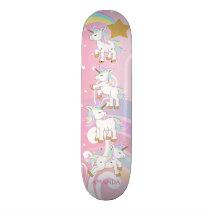 Magical Unicorns Skateboard
