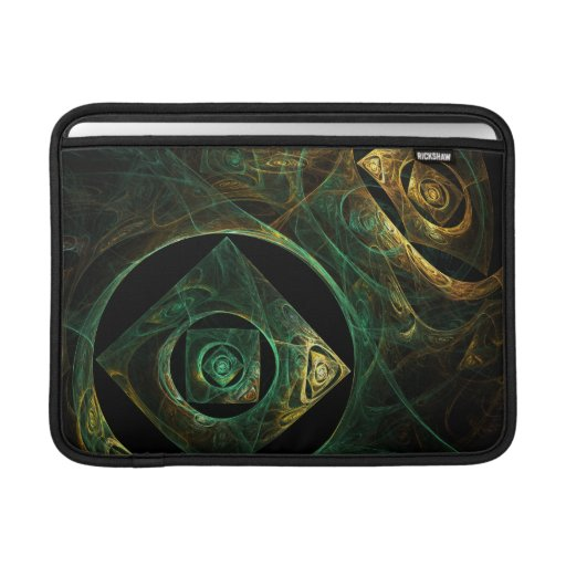 Magical Vibrations Abstract Art Macbook Air MacBook Air Sleeve