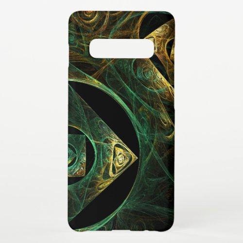 Magical Vibrations Abstract Art Matte Phone Case