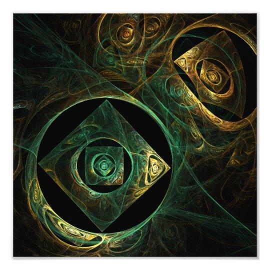 Magical Vibrations Abstract Art Photo Print