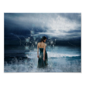 Magical Water Goddess Poster