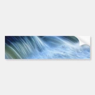 Magical Waterfall Car Bumper Sticker