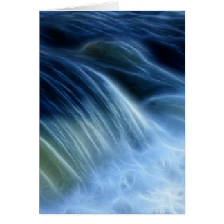 Magical Waterfall Card