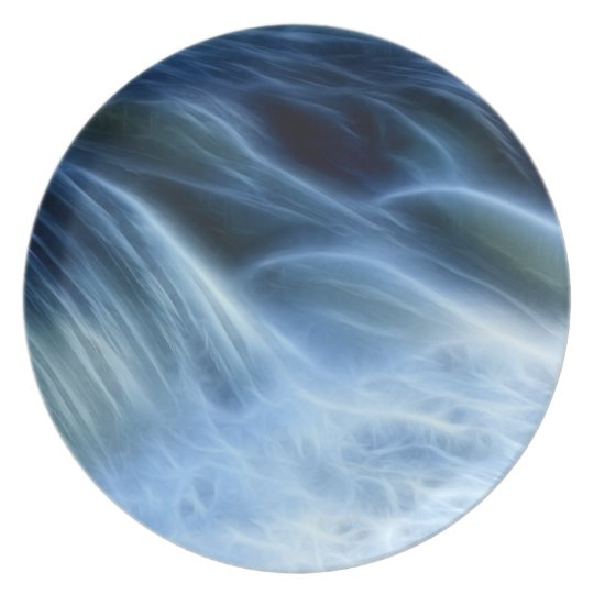 Magical Waterfall Melamine Plate