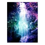Magical Waterfall Postcard
