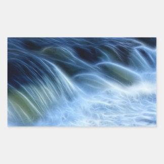 Magical Waterfall Rectangular Sticker