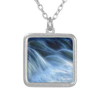 Magical Waterfall Silver Plated Necklace