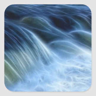 Magical Waterfall Square Sticker