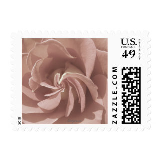 Magical Wedding Rose Small Postage Stamps Postage