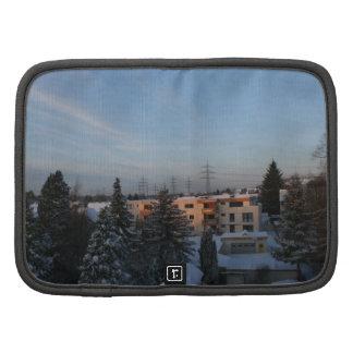 Magical Winter Sunrise - Urban Scene Folio Planners