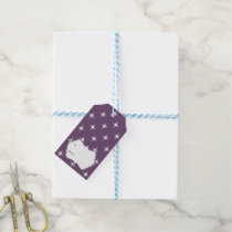 magical Winter Twinkles Sparkles Pattern Gift Tags
