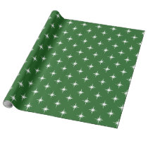magical Winter Twinkles Sparkles Pattern Wrapping Paper