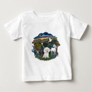 Magical WOods - Bichon Frise Baby T-Shirt