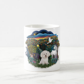 Magical WOods - Bichon Frise Coffee Mug