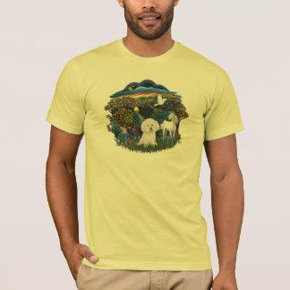 Magical WOods - Bichon Frise T-Shirt