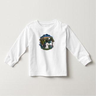 Magical WOods - Bichon Frise Toddler T-shirt