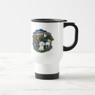 Magical WOods - Bichon Frise Travel Mug