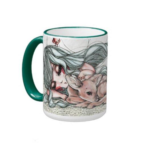 Magical Woods Scene Coffee Mug